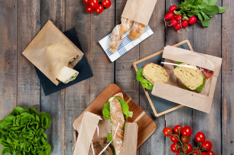 Sacchetti pane carta avana compostabile dimensioni diverse 1