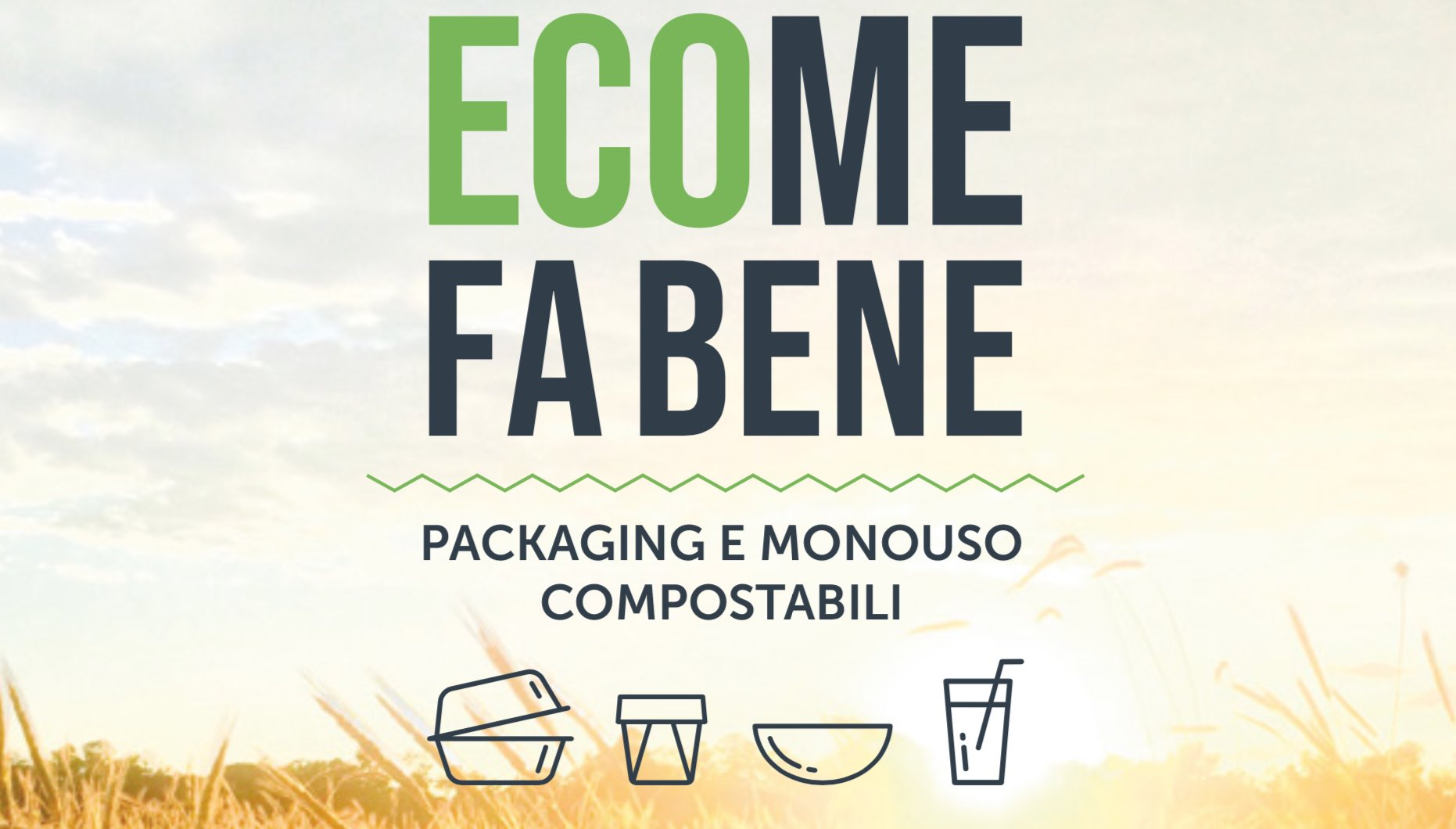 Catalogo food packaging monouso compostabile ecosostenibile