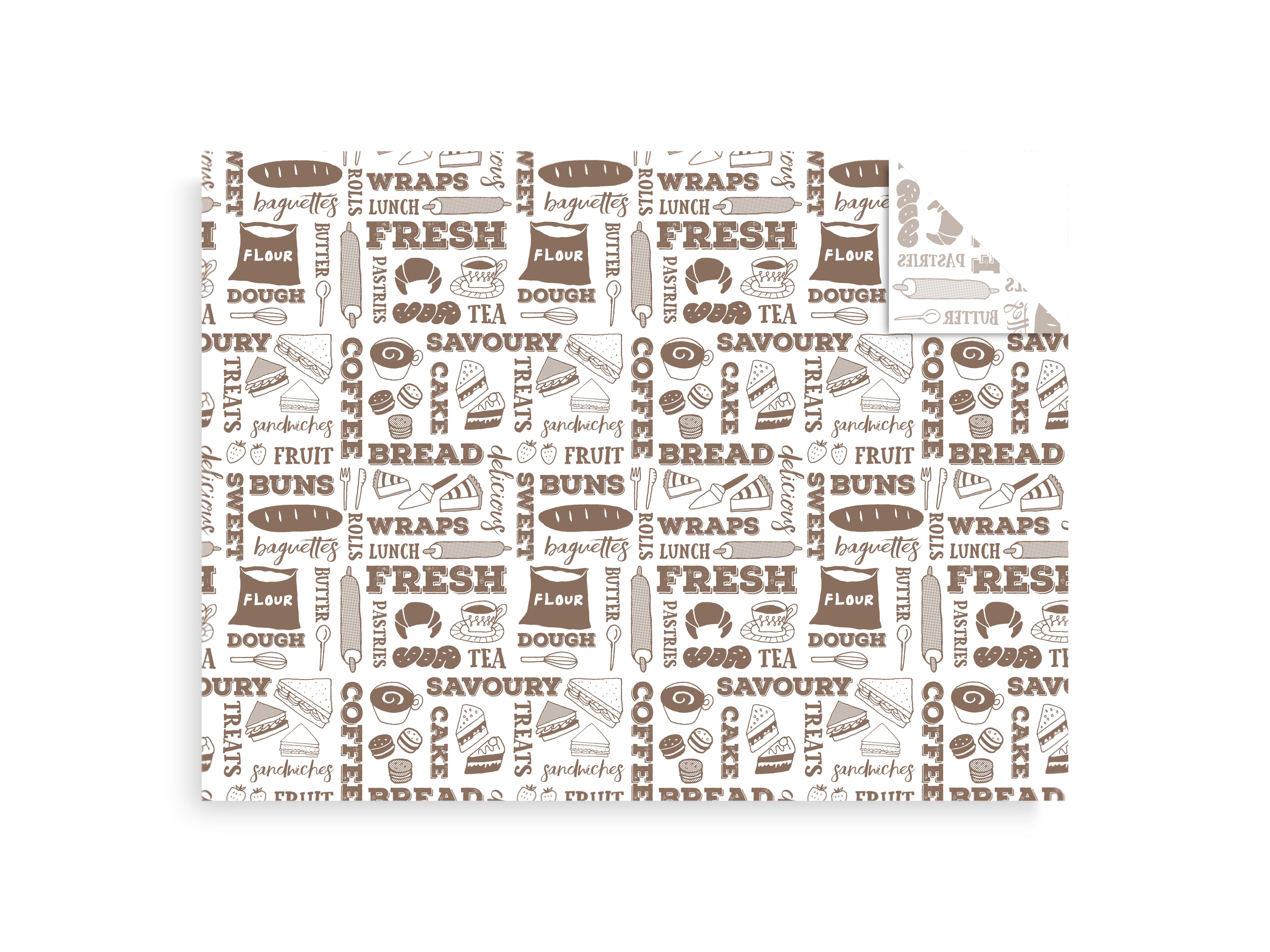 Carta antiunto bakery (1000 pezzi)