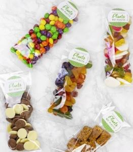 Sacchetti Natureflex trasparenti per alimenti