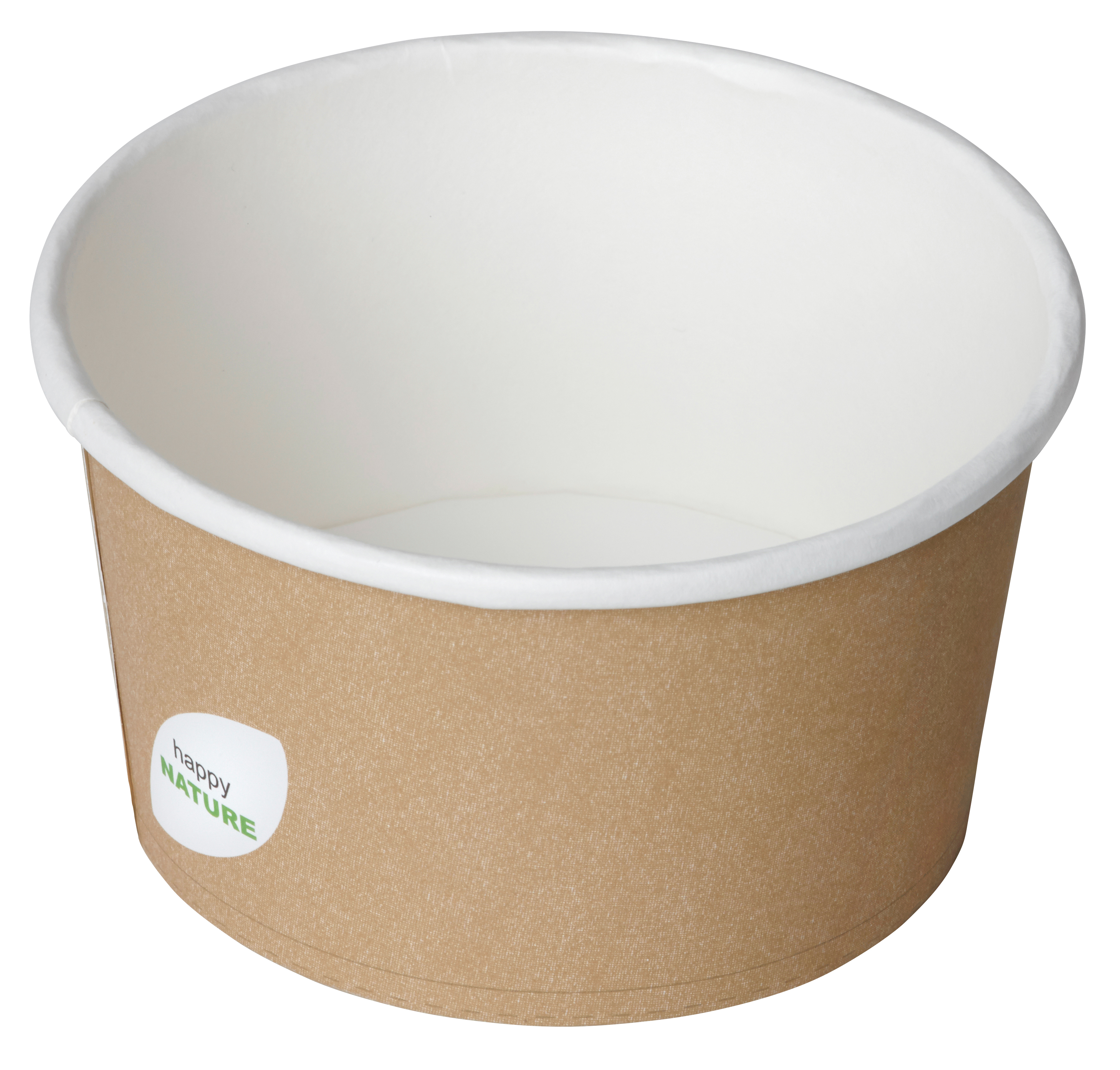 Contenitore per zuppa in cartoncino colore avana 400ml (500 pezzi)