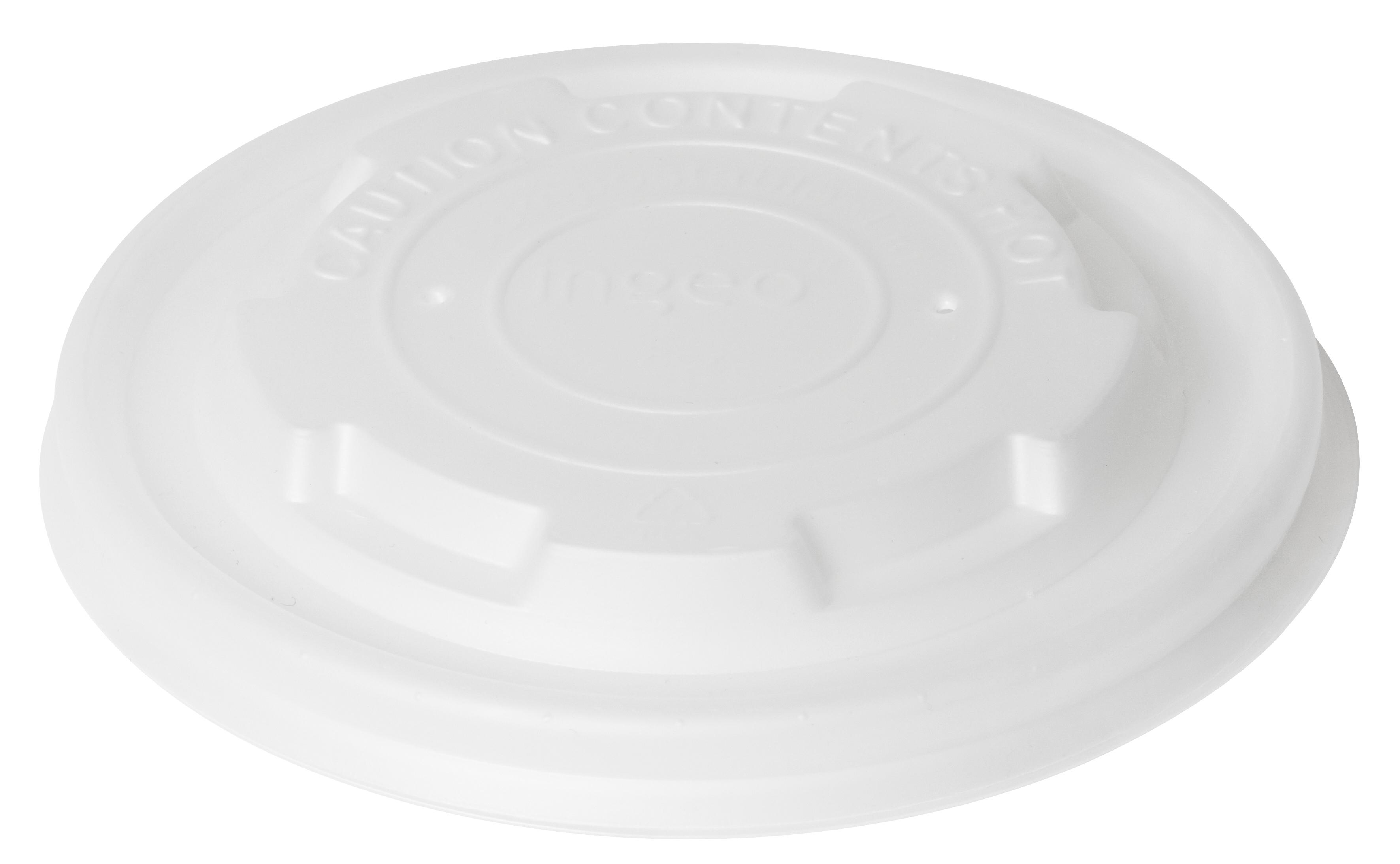 Coperchio in CPLA per contenitori uso caldo da 250ml (800 pezzi)