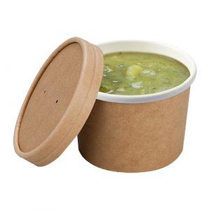 contenitore per zuppe cartoncino 225ml