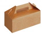 LUNCH BOX IN CARTONCINO AVANA 228x122x97MM (125 PEZZI)