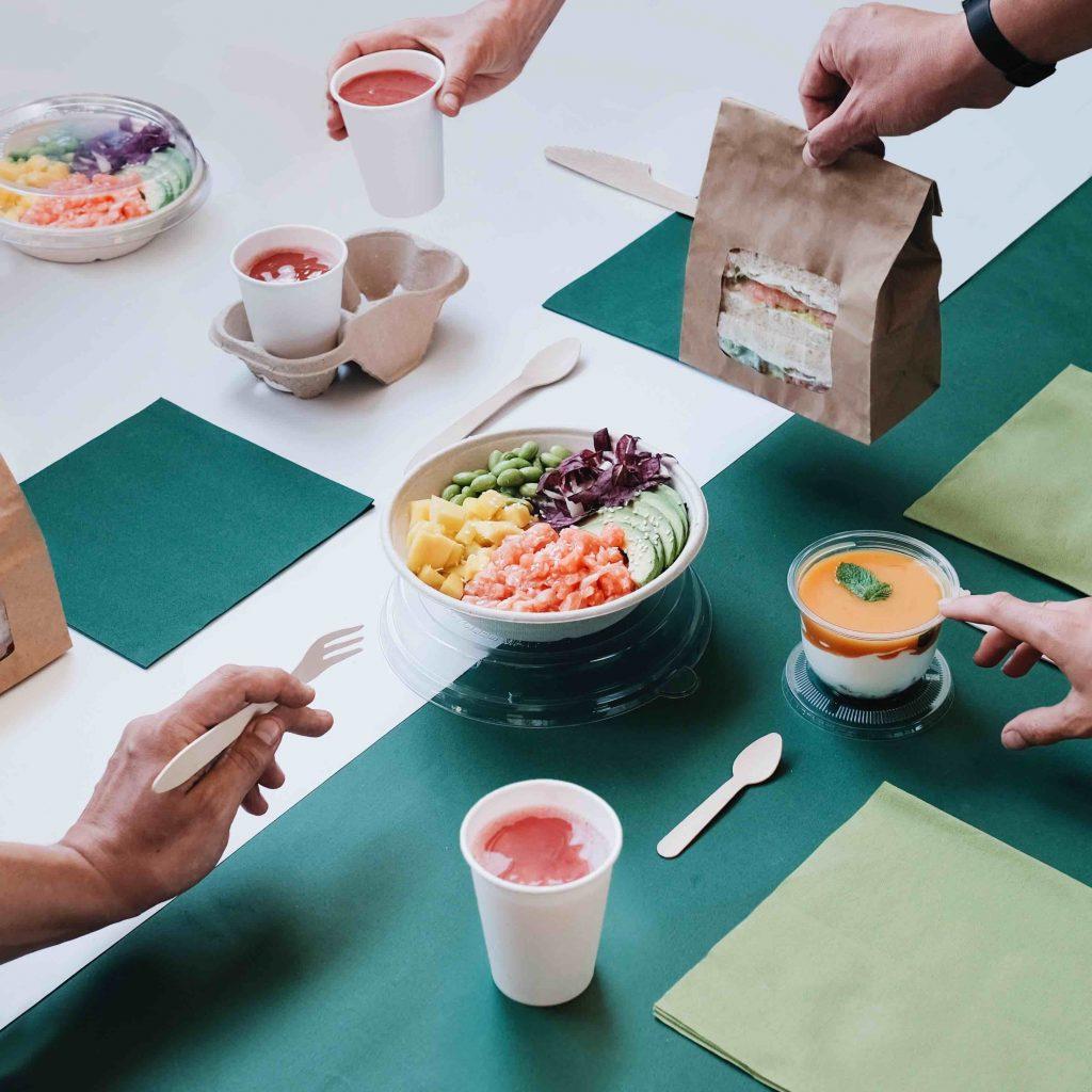 Food Packaging take away - Food delivery - Foto di Giorgia Polo per Cartaria Italiana